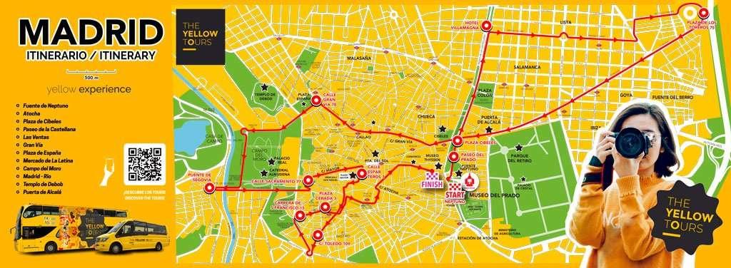Itinerario bus Madrid